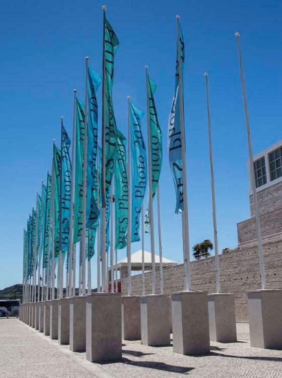 Flags at Belem