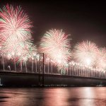 Forth Bridge Festival fireworks 13 Sept 2014 - 11