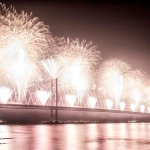 Forth Bridge Festival fireworks 13 Sept 2014 - 12
