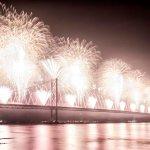 Forth Bridge Festival fireworks 13 Sept 2014 - 12