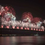 Forth Bridge Festival fireworks 13 Sept 2014 - 14