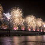 Forth Bridge Festival fireworks 13 Sept 2014 - 5