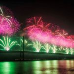 Forth Bridge Festival fireworks 13 Sept 2014 - 7
