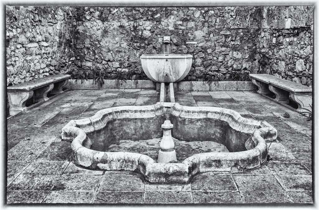 Fountain at Castelo de Sao Jorge