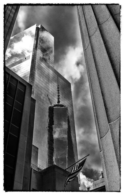Freedom Tower reflection New York