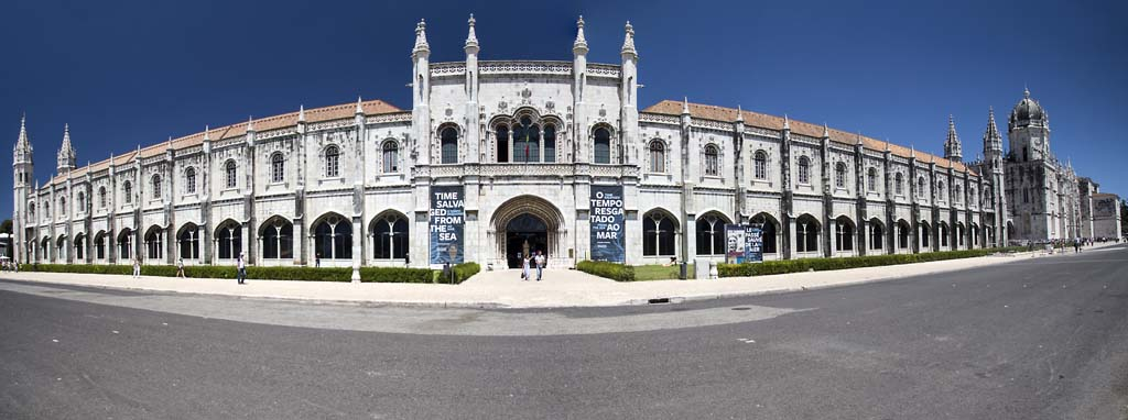 Jeronimo's Monastery and the Museum of the Sea at Belem