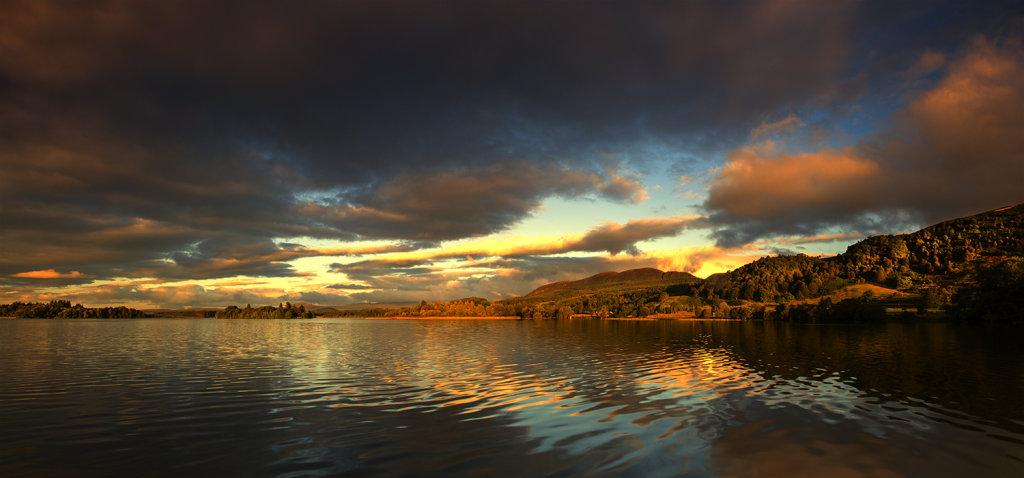 Lake of Menteith at Dawn
