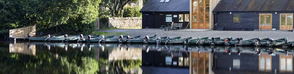Lake of Menteith fisheries boats - 2