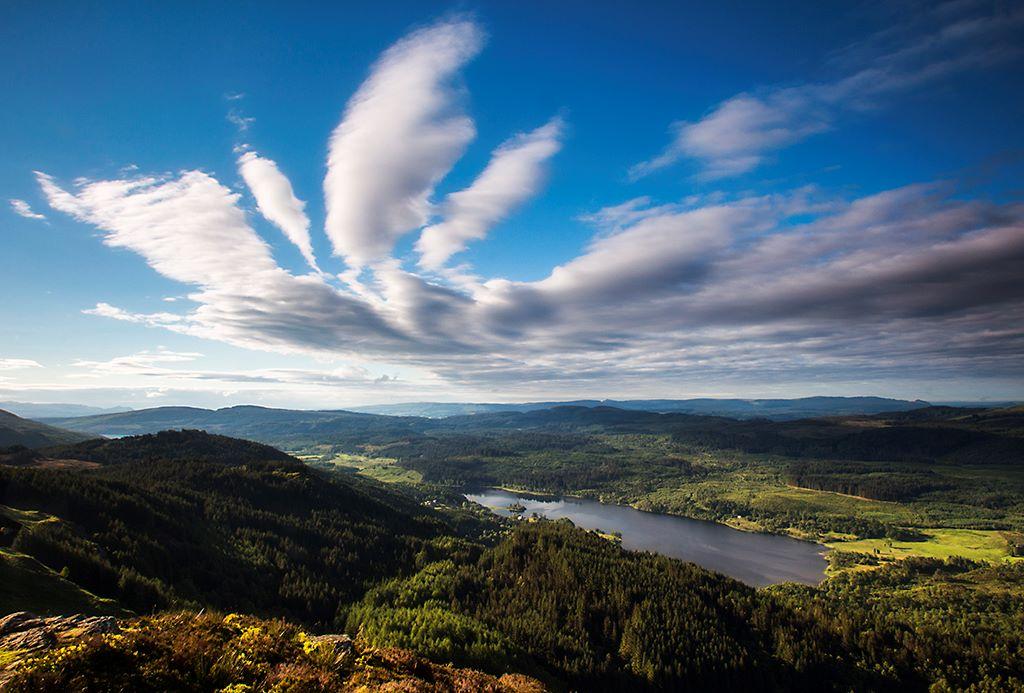 Loch Achray from Ben A'an