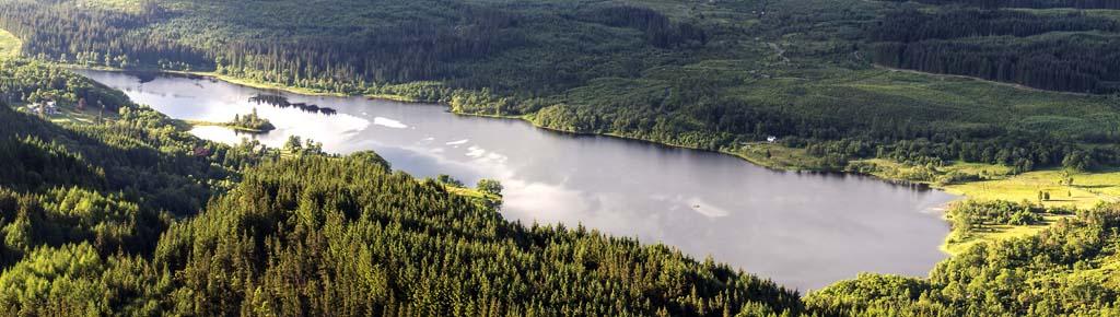 Loch Achray in the Trossachs