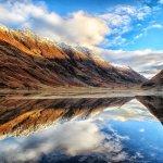 Loch Achtriochan & The Aonach Eagach Ridge