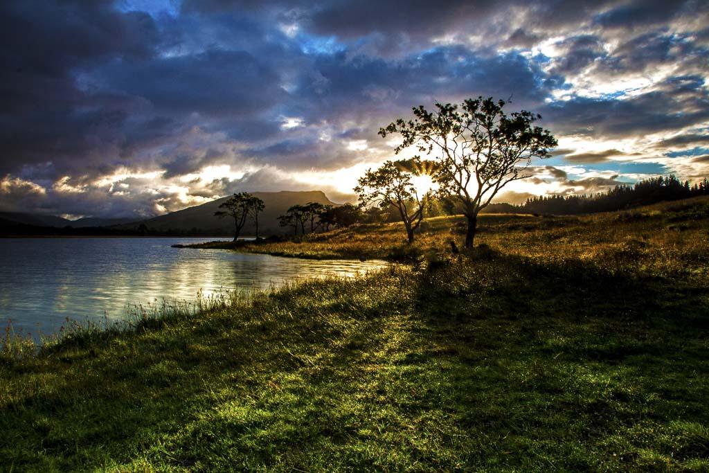 Loch Awe sunrise