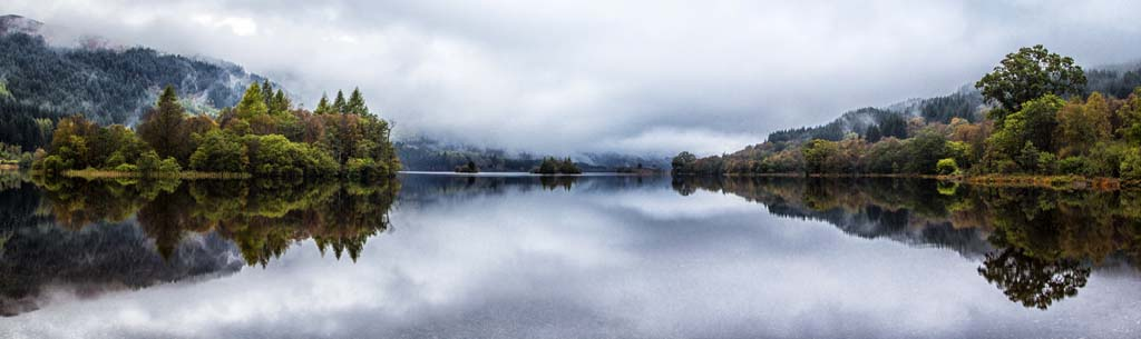Loch Chon a Dull and Dreich Morning
