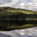 Loch Chon wide Panorama