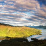 Loch Katrine & Ben Venue bathed in a golden glow