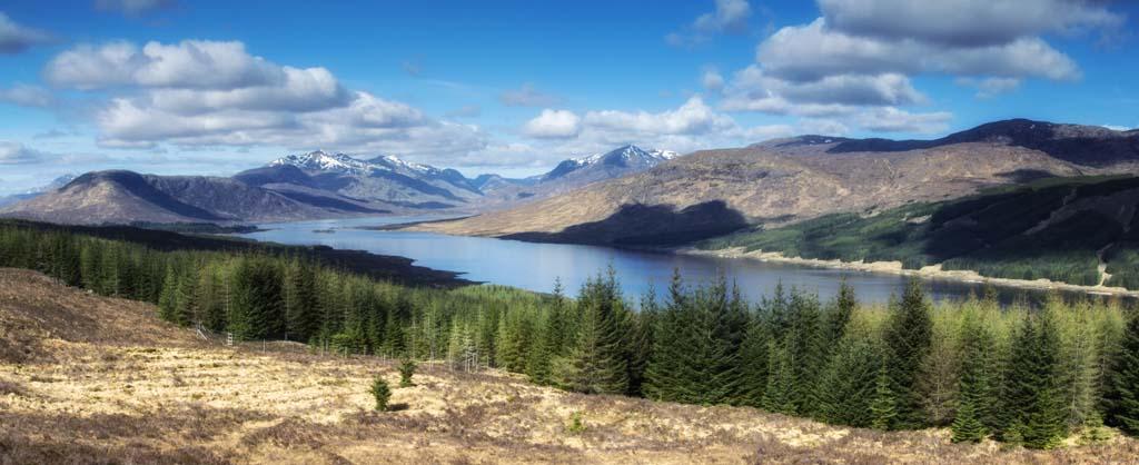 Loch Loyne and Spidean Mialich, Gleourich and Aonach air Chrith