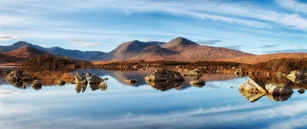Lochan na h'Achlaise & Black Mount November