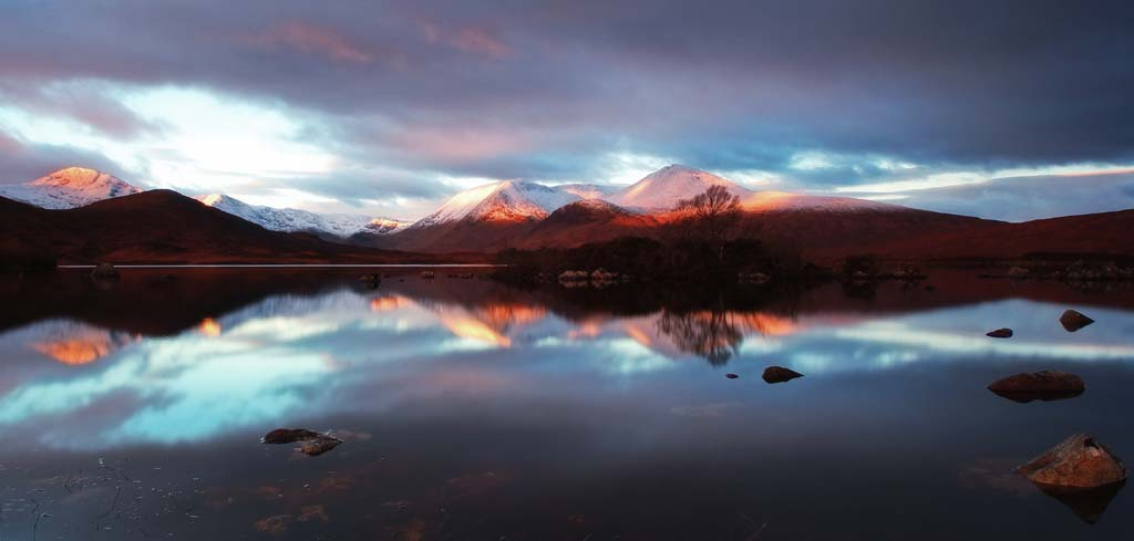 Lochan na h'Achlaise & The Black Mount