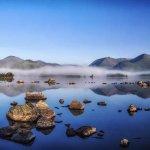Lochan na h'Achlaise mist