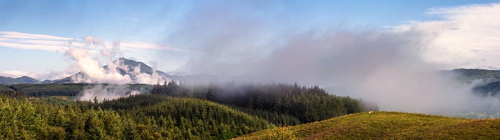 Mist over Ben Ledi, Trossachs