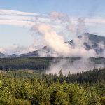 Mist over Ben Ledi