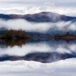 Mist over Loch Chon