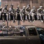 Rockefeller Men at Times Square