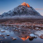 Sunrise on Buachaille Etive Mhor