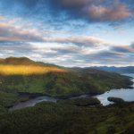 Sunrise over Loch Katrine & Ben Venue