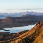 The Old Man of Storr and the Sound of Raasay