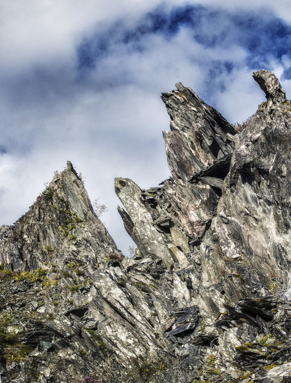 The Towers of the Teeth, Cnoc an t-Sabhail, Trossachs