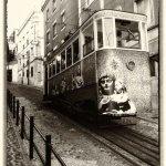 Tram Car lift Lisbon