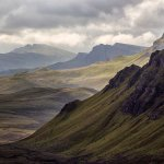 Trotternish Mountains, Skye - 2