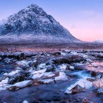 Twilight Glow on Buachaille Etive Mhor