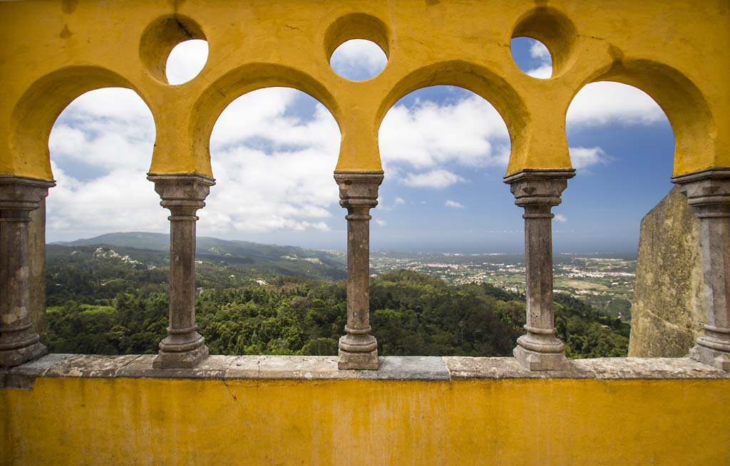 View from Pena Palace, Sintra - 2