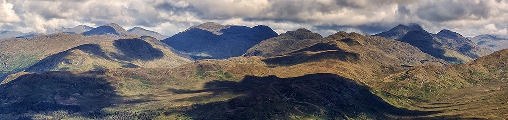 View north from Ben Venue