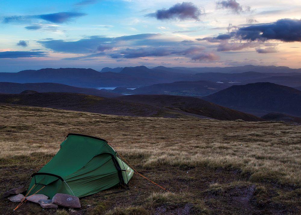 Wild Camp on An Teallach