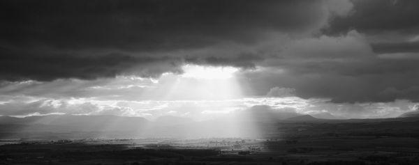 Alson Moor sun breaks through