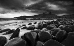 Storm over Dunstanburgh