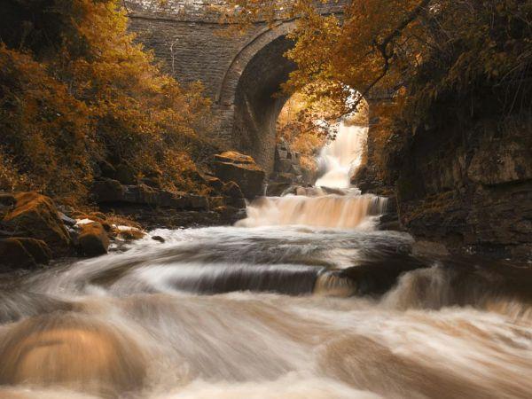 Three waterfalls