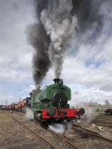 Steam at Bowes 1