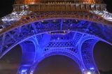 Tour Eiffel illuminée - détail