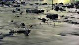 Long exposure on water