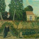 Kitchen garden in Mallezais, France