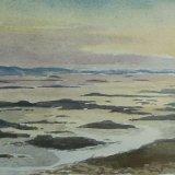 Strangford Lough, sunset