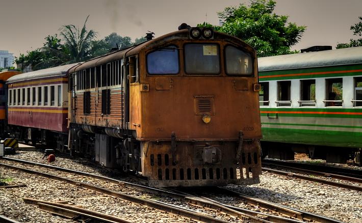 Thai diesel locomotive