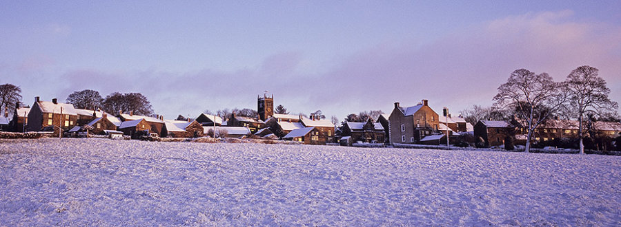 Longnor in the Snow