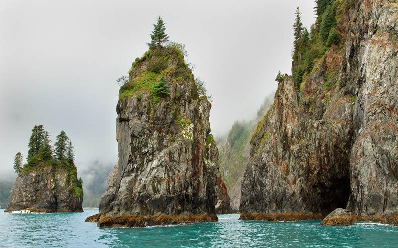 Monolithes de Cap Aialik