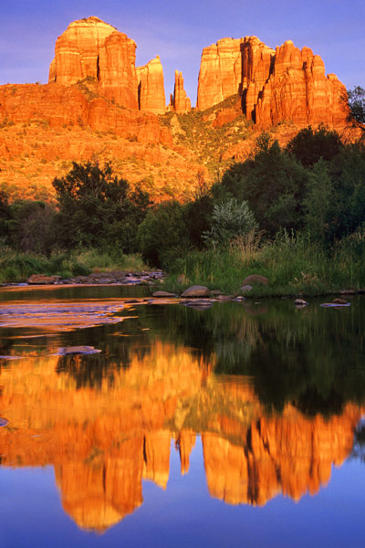 Cathedral Rock au coucher de soleil 1 - Sedona, Arizona
