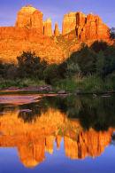 Cathedral Rock au coucher de soleil 1 - Sedona, Arizona